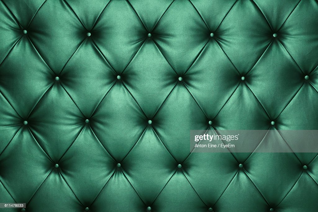 Full Frame Shot Of Leather Couch : Stock Photo