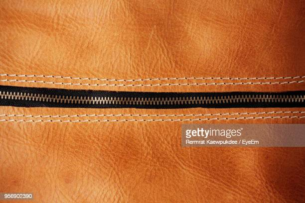 full frame shot of leather jacket - zip stock pictures, royalty-free photos & images