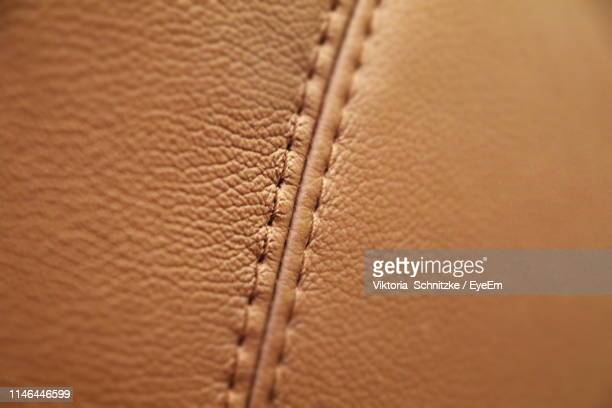 full frame shot of leather - leather stock pictures, royalty-free photos & images