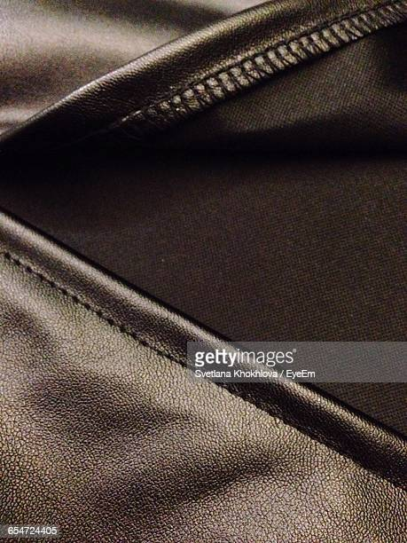 Full Frame Shot Of Leather Skirt