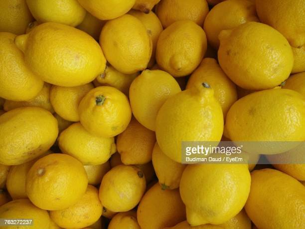 Full Frame Shot Of Lemons