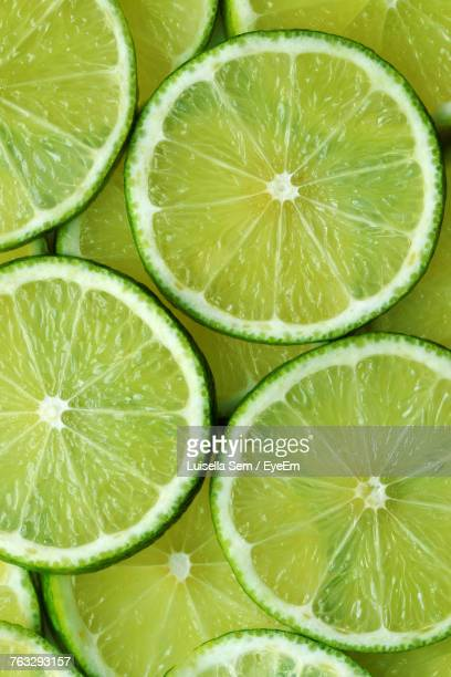 Full Frame Shot Of Limes
