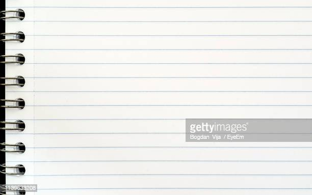 full frame shot of lined paper - lined paper stock pictures, royalty-free photos & images