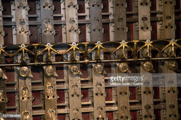 full frame shot of locks - bletchley park stock pictures, royalty-free photos & images