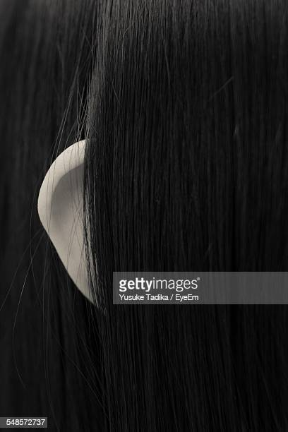 Full Frame Shot Of Long Hair