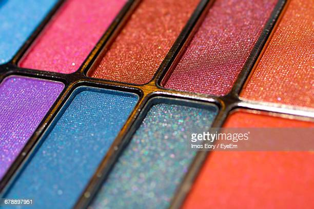 Full Frame Shot Of Make-up Palette