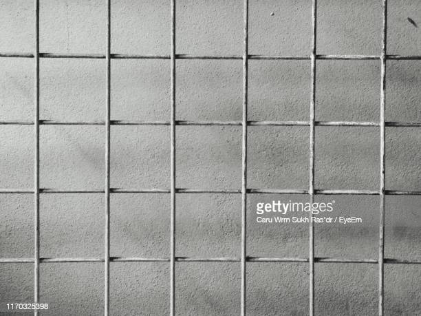 full frame shot of metal grate - metal grate stock photos and pictures