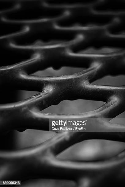 Full Frame Shot Of Metal Grate