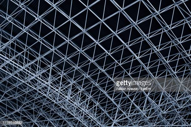 full frame shot of metal structure - abu dhabi stock pictures, royalty-free photos & images