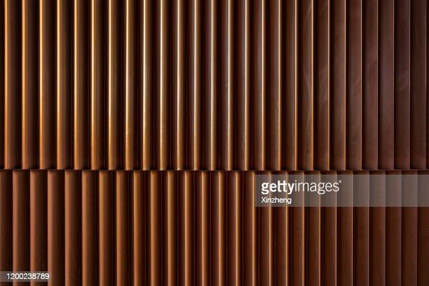 full frame shot of metallic structure - wall building feature stock pictures, royalty-free photos & images