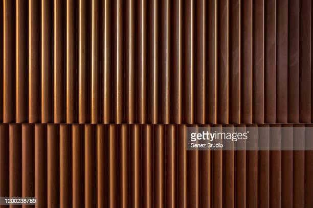 full frame shot of metallic structure - cobre imagens e fotografias de stock