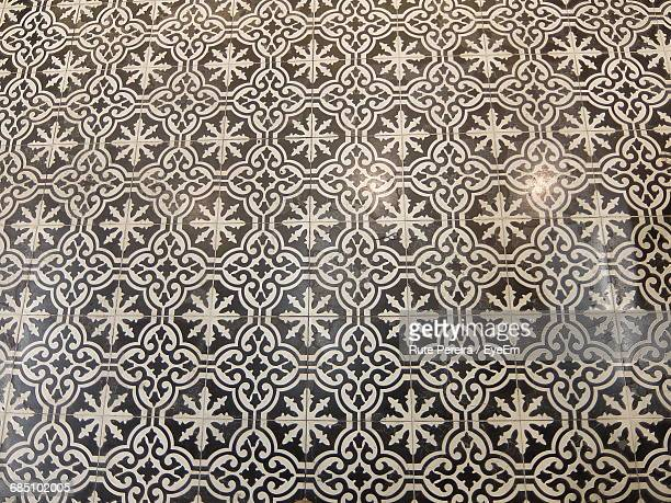 Full Frame Shot Of Mosaic Tiled Floor