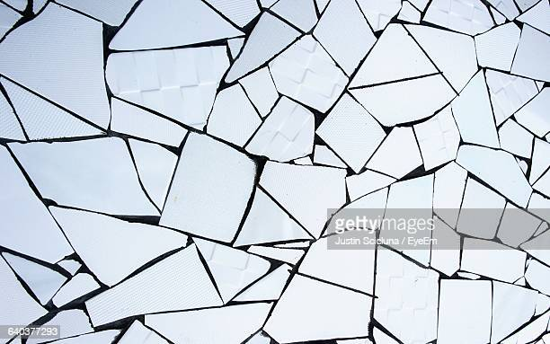 full frame shot of mosaic tiles - ceramic stock photos and pictures