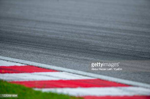 full frame shot of motor racing track - motor racing track stock pictures, royalty-free photos & images