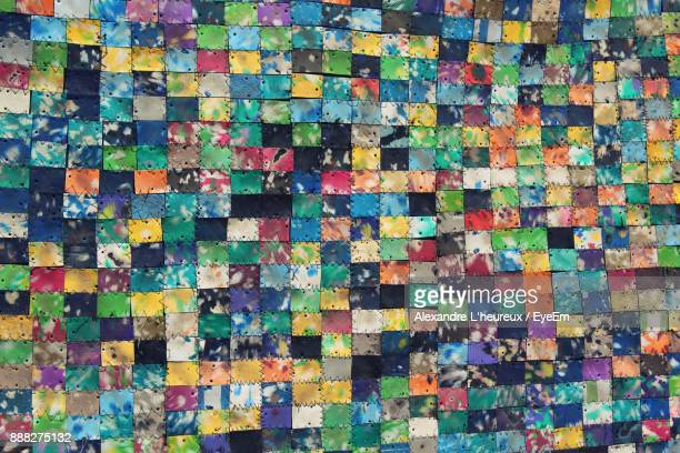 Full Frame Shot Of Multi Colored Abstract Background