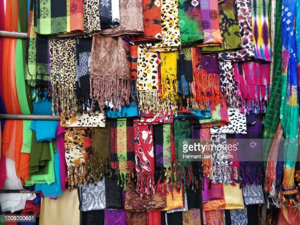 full frame shot of multi colored clothes at market stall - eyeem collection stock pictures, royalty-free photos & images