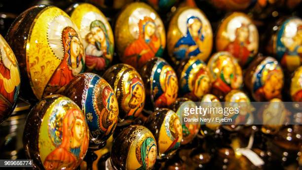 full frame shot of multi colored decoration for sale - bohemia czech republic stock pictures, royalty-free photos & images