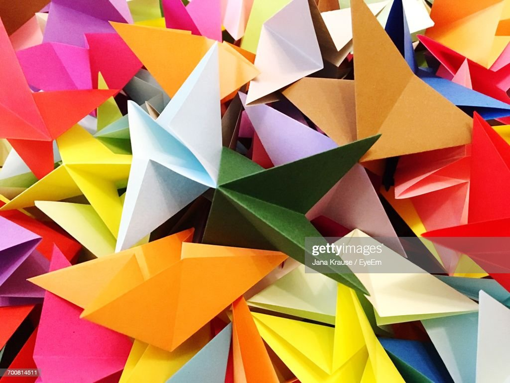 full frame shot of multi colored paper stock photo getty images