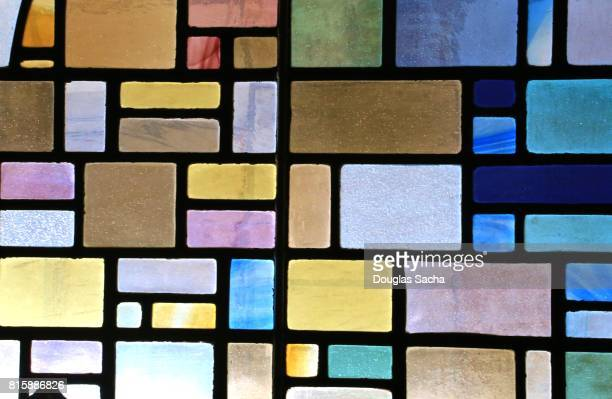 full frame shot of multi colored stained glass - stained glass stock photos and pictures