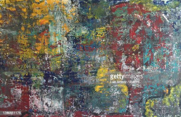 full frame shot of multi colored wall - arte stock pictures, royalty-free photos & images