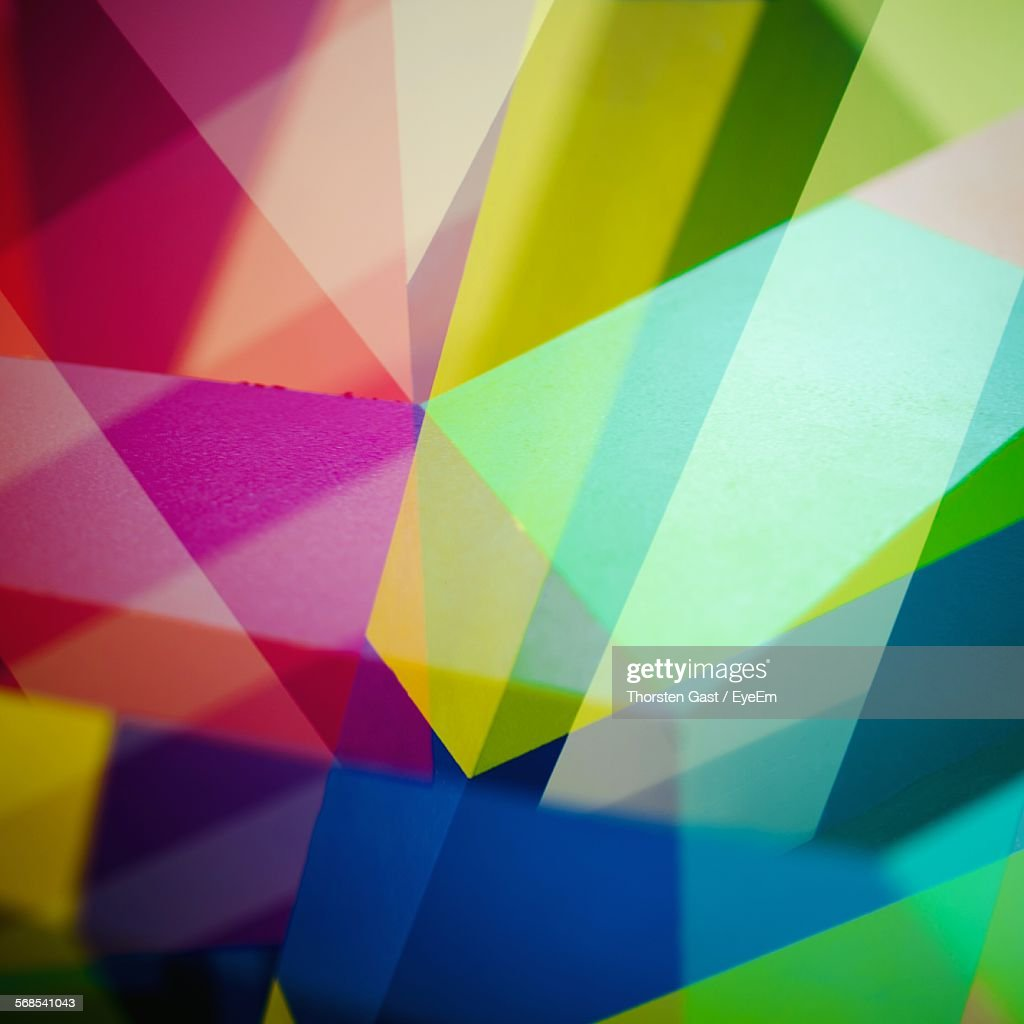 Full Frame Shot Of Multi Colored Wall : Stock Photo