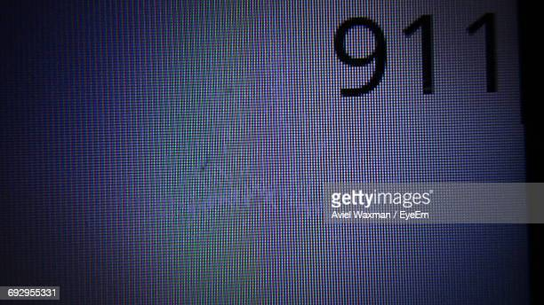 full frame shot of number on mobile screen - liquid crystal display stock pictures, royalty-free photos & images