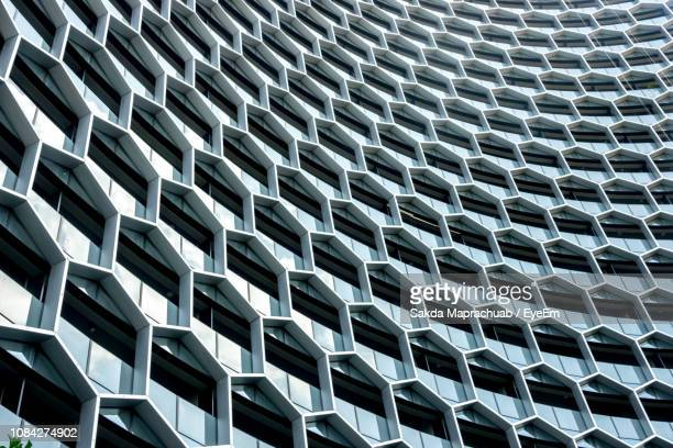 full frame shot of office building - architecture stock pictures, royalty-free photos & images