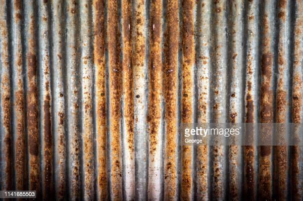Full frame shot of  old zinc wall