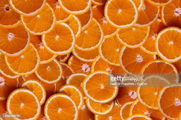 full frame shot of orange fruit - part of stock pictures, royalty-free photos & images