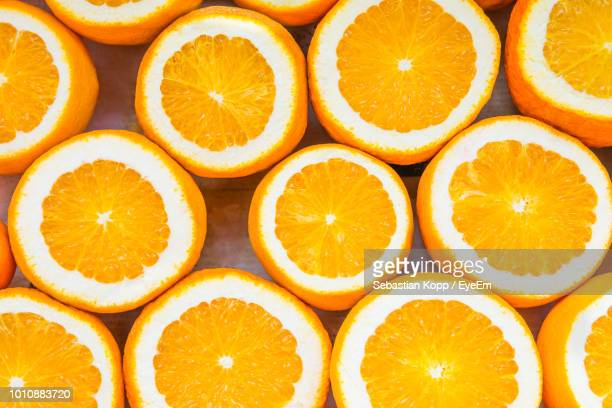 full frame shot of orange fruits - vitamin c stock pictures, royalty-free photos & images