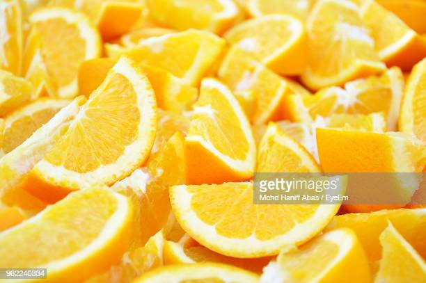 full frame shot of orange slices - juicy stock photos and pictures