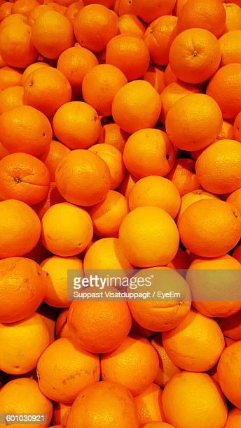 Full Frame Shot Of Oranges