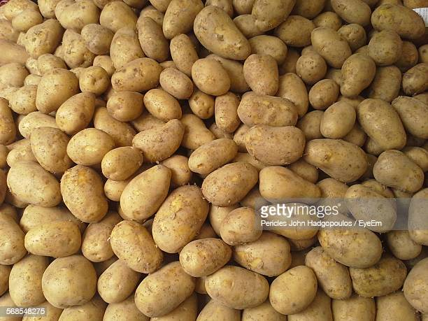Full Frame Shot Of Organic Potatoes