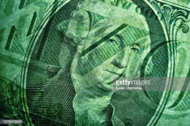 full frame shot of paper currency - 金融と経済 ストックフォトと画像
