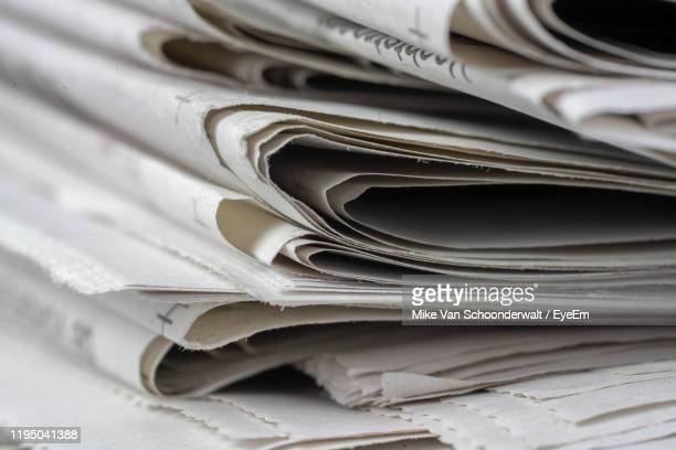 full frame shot of papers - news not politics stock pictures, royalty-free photos & images