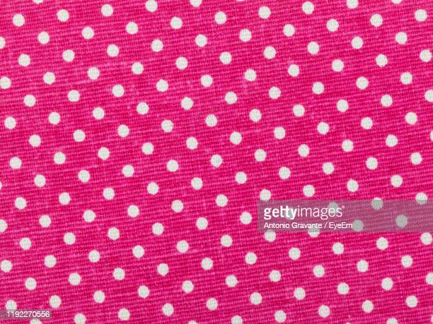 full frame shot of patterned blue textile - polka dot stock pictures, royalty-free photos & images