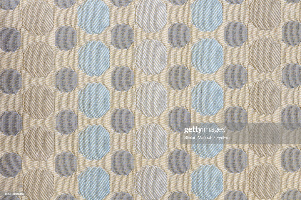 full frame shot of patterned fabric ストックフォト getty images