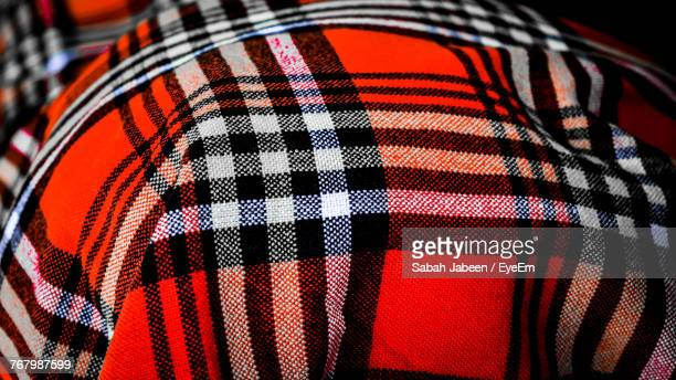 full frame shot of patterned fabric - checked pattern stock pictures, royalty-free photos & images