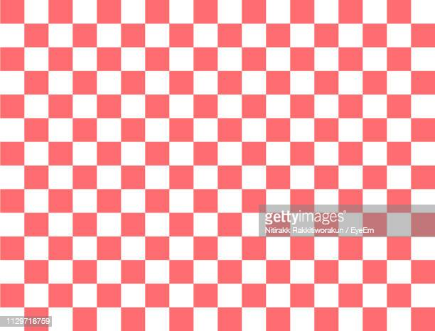 full frame shot of patterned floor - checked pattern stock pictures, royalty-free photos & images