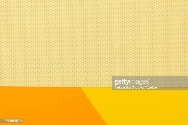 full frame shot of patterned papers - spotted stock pictures, royalty-free photos & images