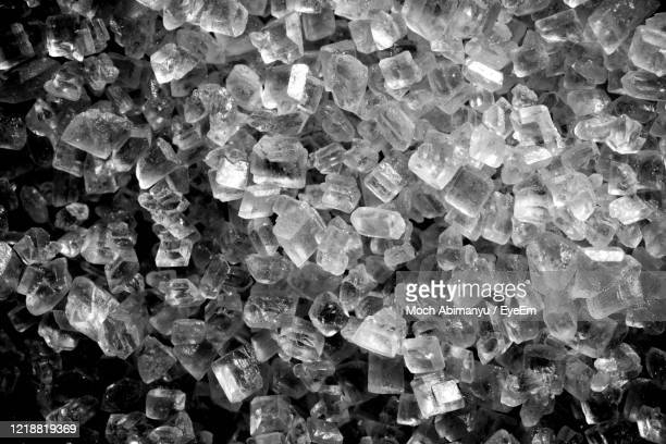 full frame shot of patterned sugar - salt mineral stock pictures, royalty-free photos & images