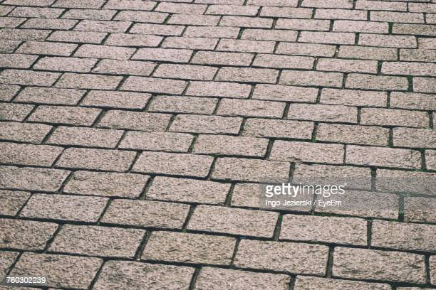 full frame shot of paving stone - paving stone stock pictures, royalty-free photos & images