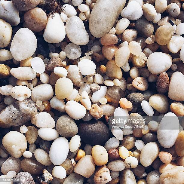 full frame shot of pebbles - amanda and amanda stock pictures, royalty-free photos & images