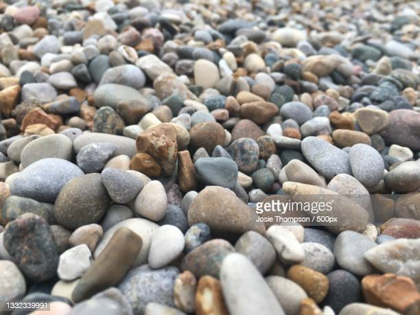 full frame shot of pebbles,sarnia,ontario,canada - サルニア ストックフォトと画像