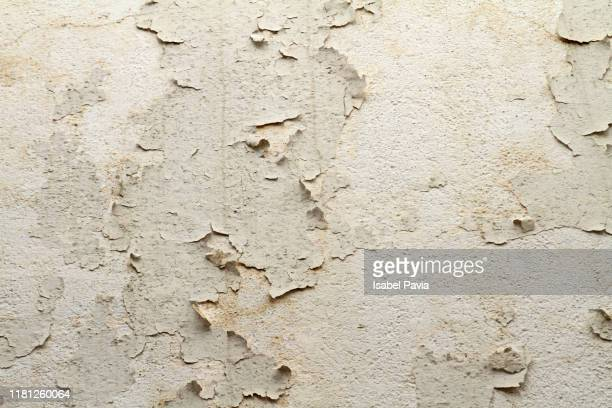 full frame shot of peeled wall - weathered stock pictures, royalty-free photos & images