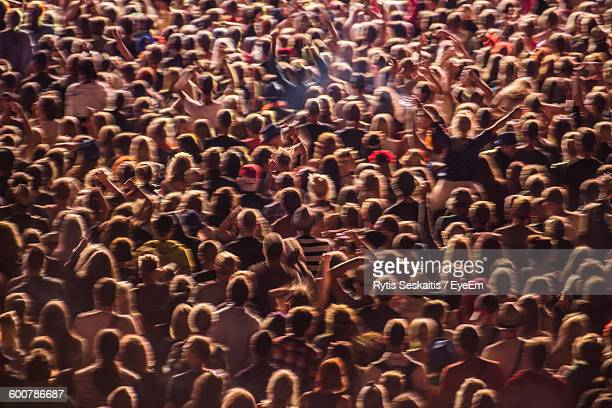 Full Frame Shot Of People At Music Event