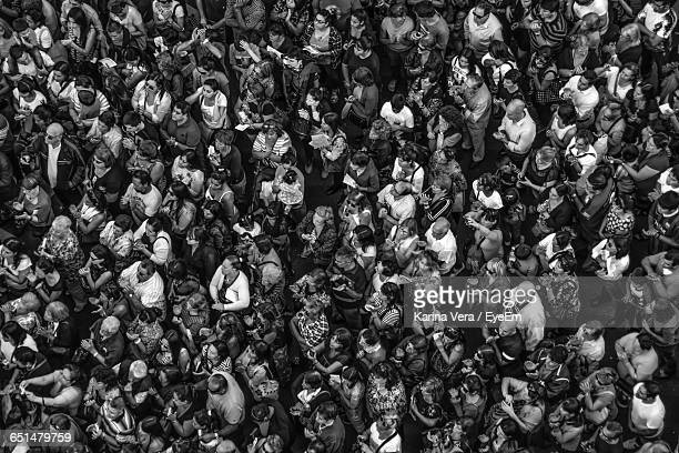full frame shot of people attending mass - religious mass stock pictures, royalty-free photos & images