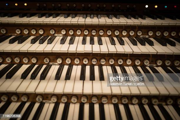 full frame shot of piano keys - solomon turkel stock pictures, royalty-free photos & images