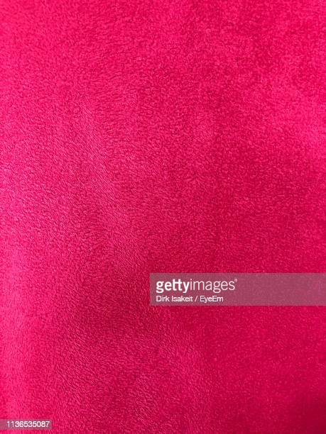 full frame shot of pink textile - velvet stock photos and pictures