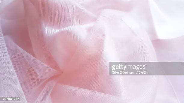 full frame shot of pink tulle netting - tulle netting stock pictures, royalty-free photos & images